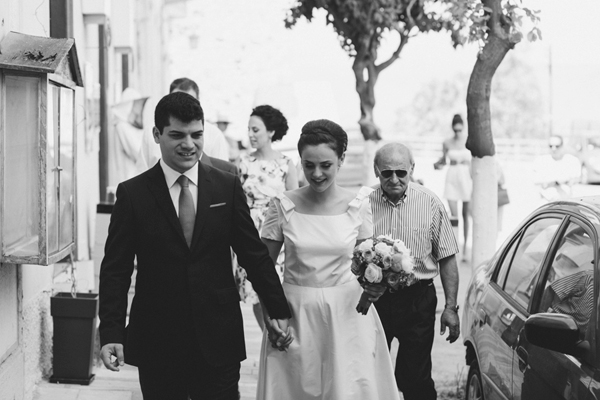 vintage-short-dress-civil-wedding