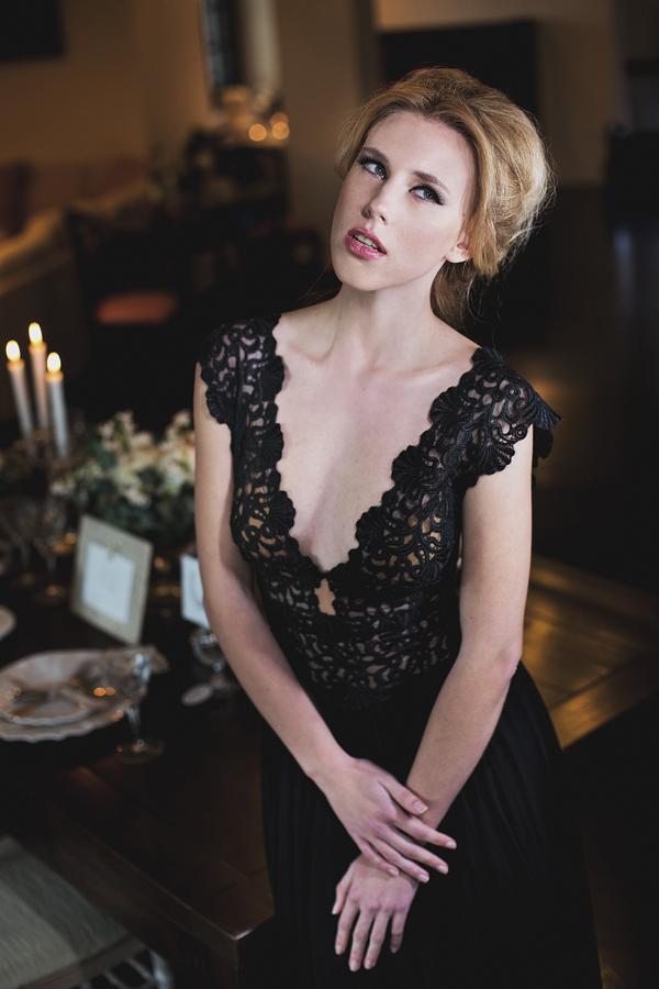 black-dress-wedding