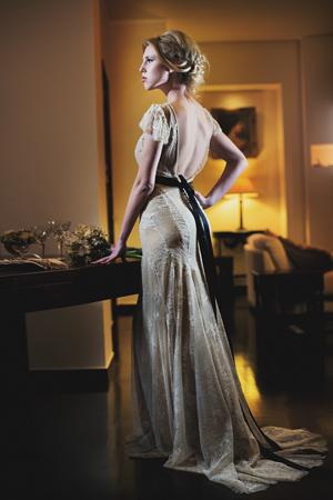 wedding-dress-black-belt-2014
