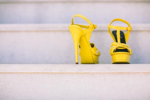 yellow-bridal-shoes