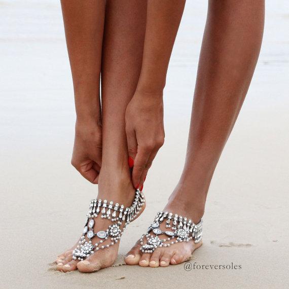 barefoot-beach-wedding-sandals