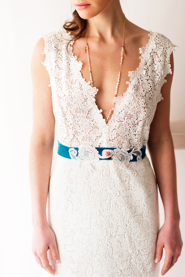romantic-wedding-dress-belt