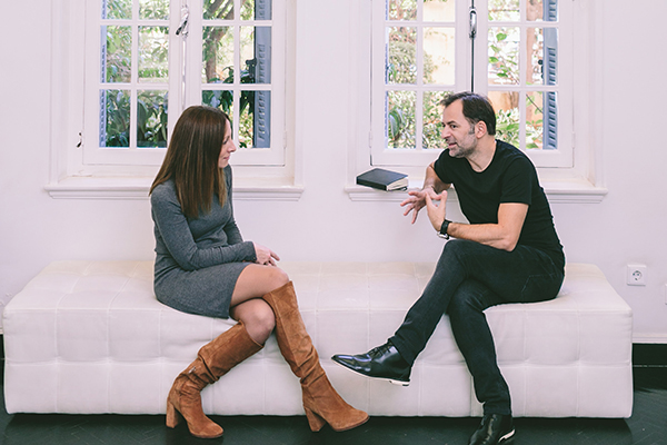 My Interview With Fashion Designer Christos Costarellos Chic Stylish Weddings