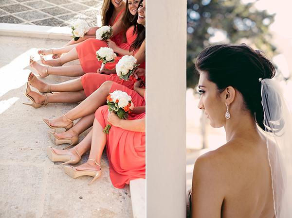 bride-bridesmaids-santorini-wedding