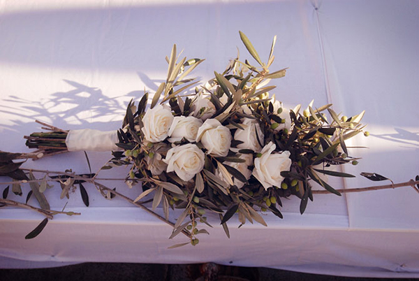 wedding-bouquet-olive-branches