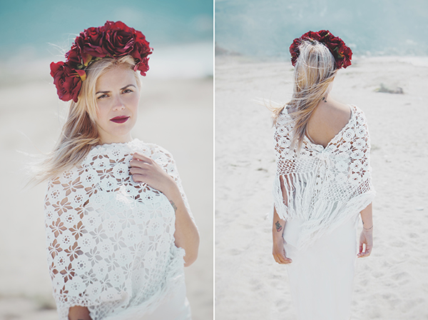 bridal-beach-photoshoot-red-floral-crown-lefkada