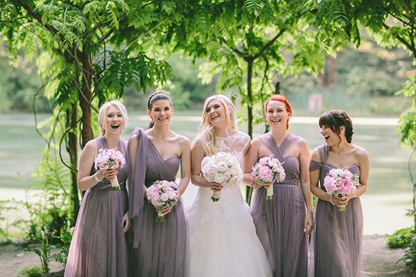 redwood-forest-wedding-bridesmaids-bride