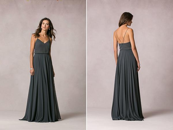 charcoal-bridesmaid-dresses