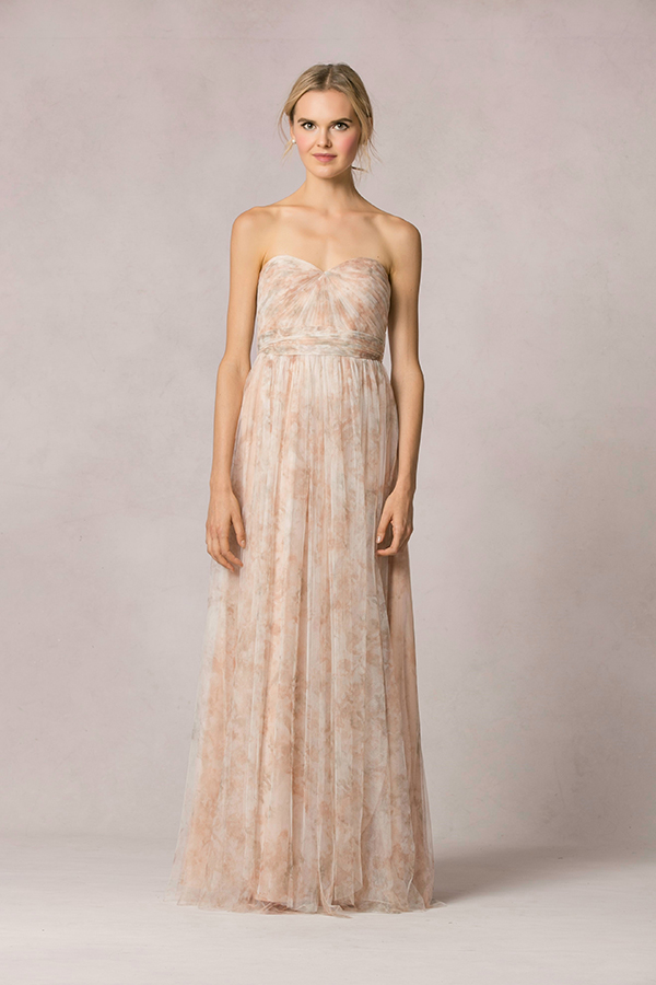two-tone-bridesmaid-dress
