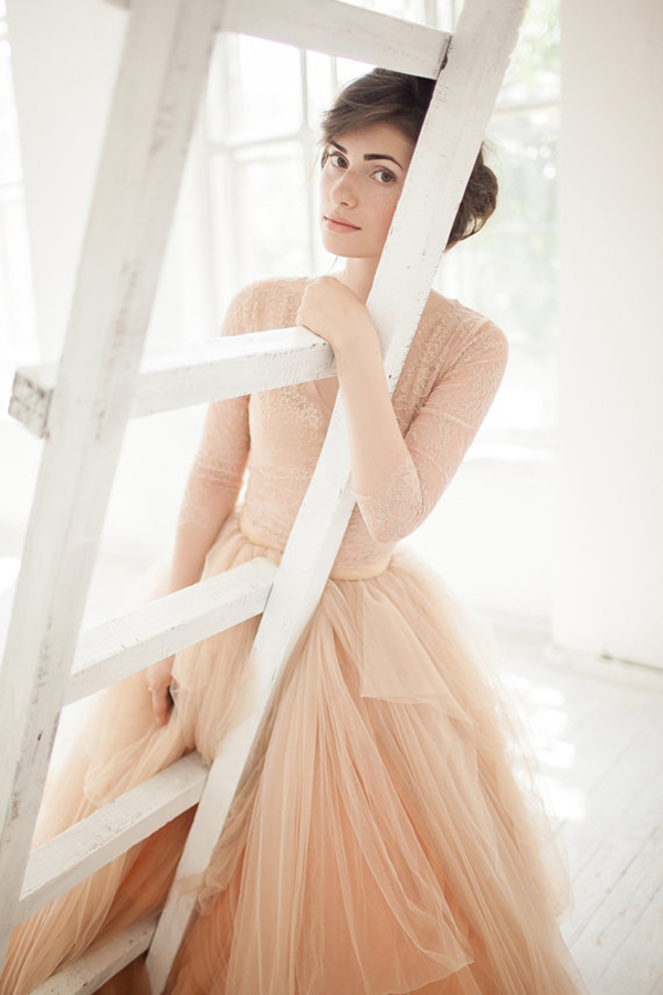 nude-tulle-bridal-dress