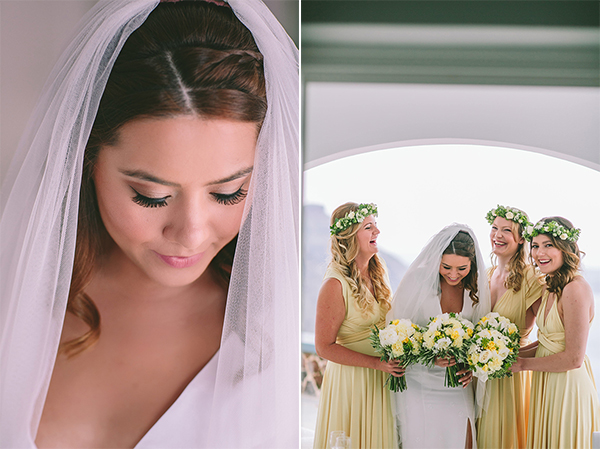 bride-bridesmaids-married-greece