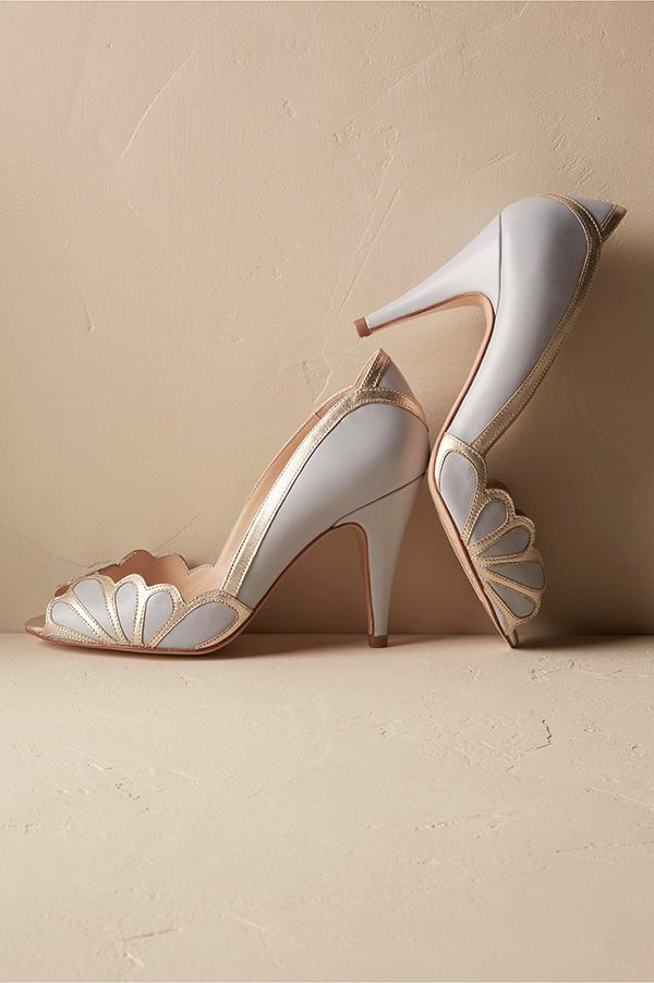 Isabella Scalloped Heel