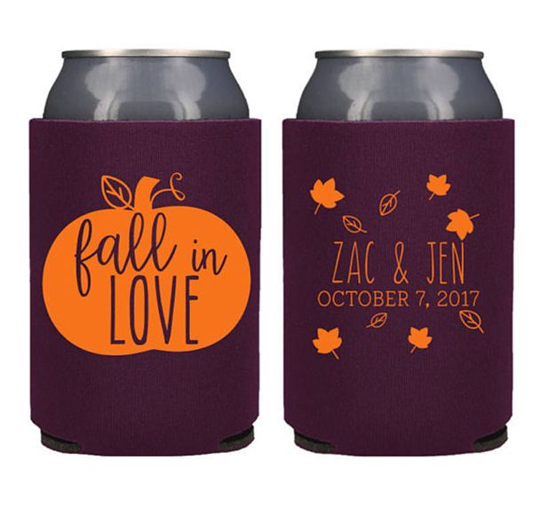 Fall Can Coolers