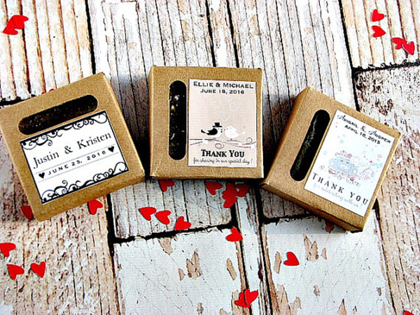 Personalized Soap Favor