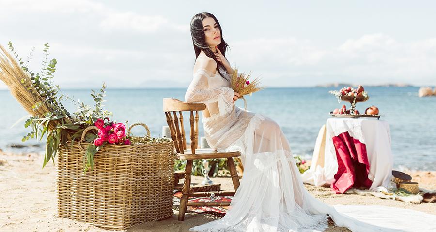 Beautiful Boho Styled Wedding Photo Shoot Chic Stylish Weddings
