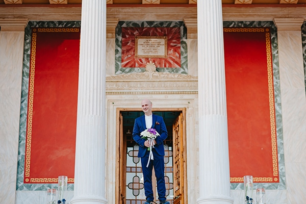 simple chic wedding blue white purple shades-14