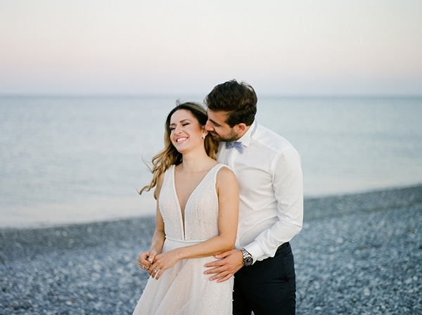 Beautiful chic wedding with pastel colors in Cyprus | Nastazia & Michalis