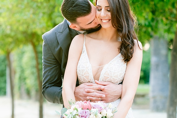 Elegant spring wedding in Nicosia with romantic details | Eftychia & Andronicos