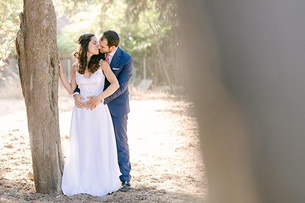 Romantic summer wedding in Athens | Nantia & Panagiotis