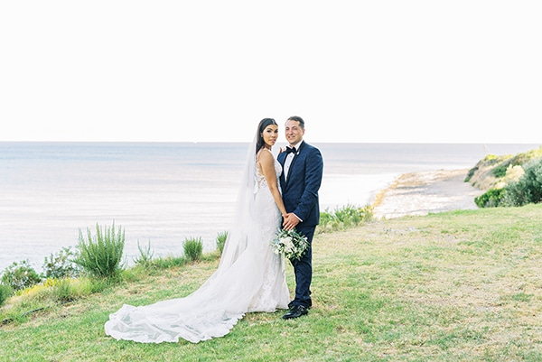 Intimate garden wedding in Kefalonia with lovely details? Chelsea & Nicholas