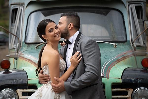 Modern white and gold wedding in Limassol ? Antigoni & Nearchos