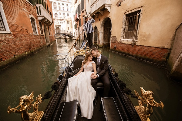 The most romantic day after shoot in Venice │ Eleni & Costantinos