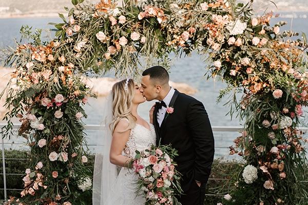 Gorgeous wedding in Athens with whimsical pastel blooms │ Nikki & Omar