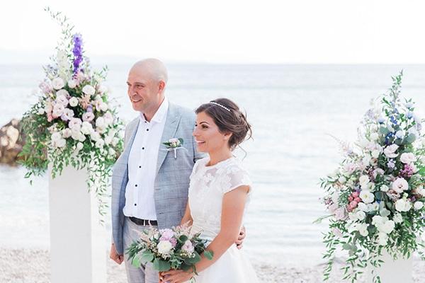 Romantic beach elopement in Lefkada island ǀ Nadya & Kosyo