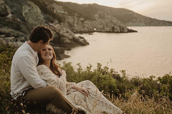 Vow renewal at the Mamma Mia church in Skopelos island │ Hannah and Caleb