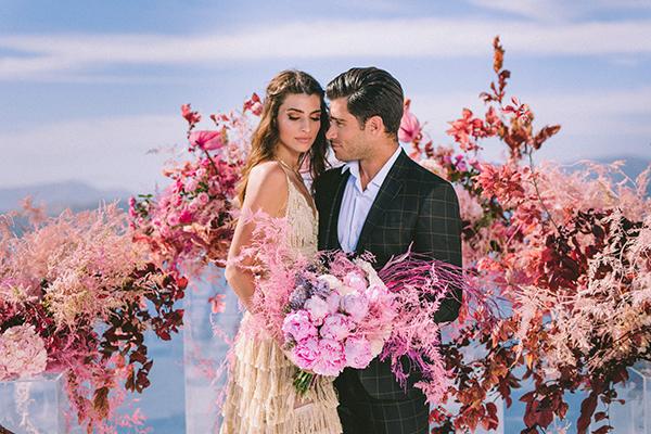 elegant-wedding-inspiration-soft-hot-pinks-santorini_01