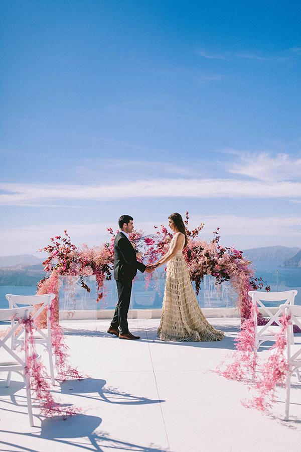 elegant-wedding-inspiration-soft-hot-pinks-santorini_03x