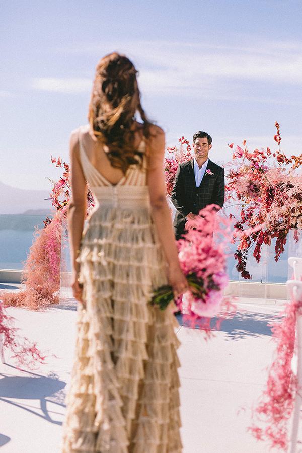 elegant-wedding-inspiration-soft-hot-pinks-santorini_25x