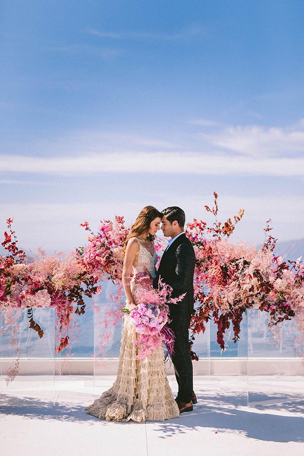 elegant-wedding-inspiration-soft-hot-pinks-santorini_26