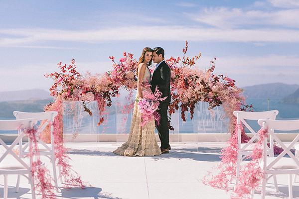 elegant-wedding-inspiration-soft-hot-pinks-santorini_27