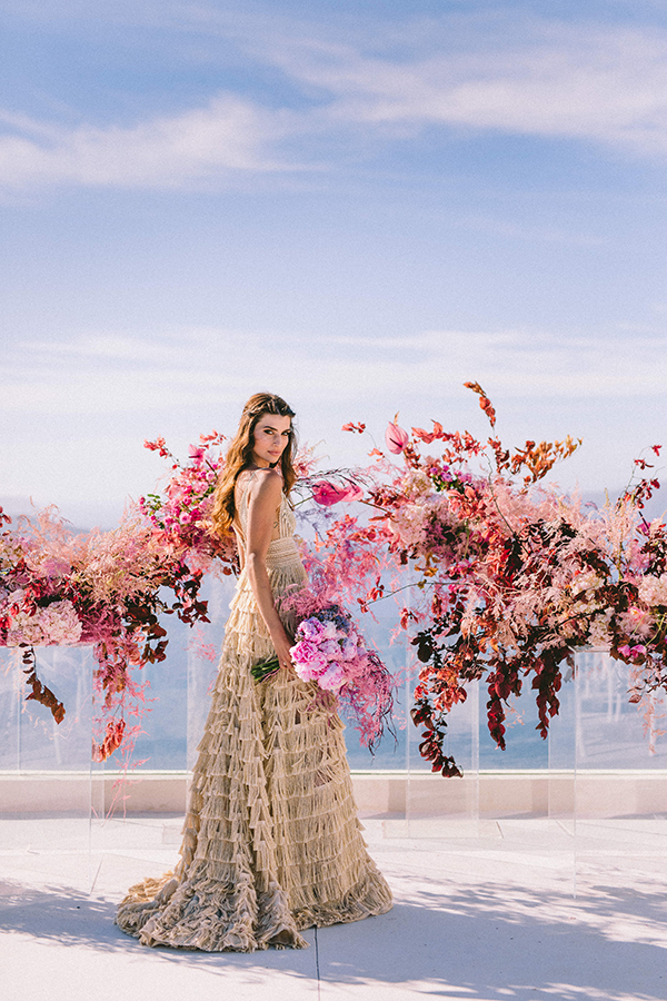 elegant-wedding-inspiration-soft-hot-pinks-santorini_27x