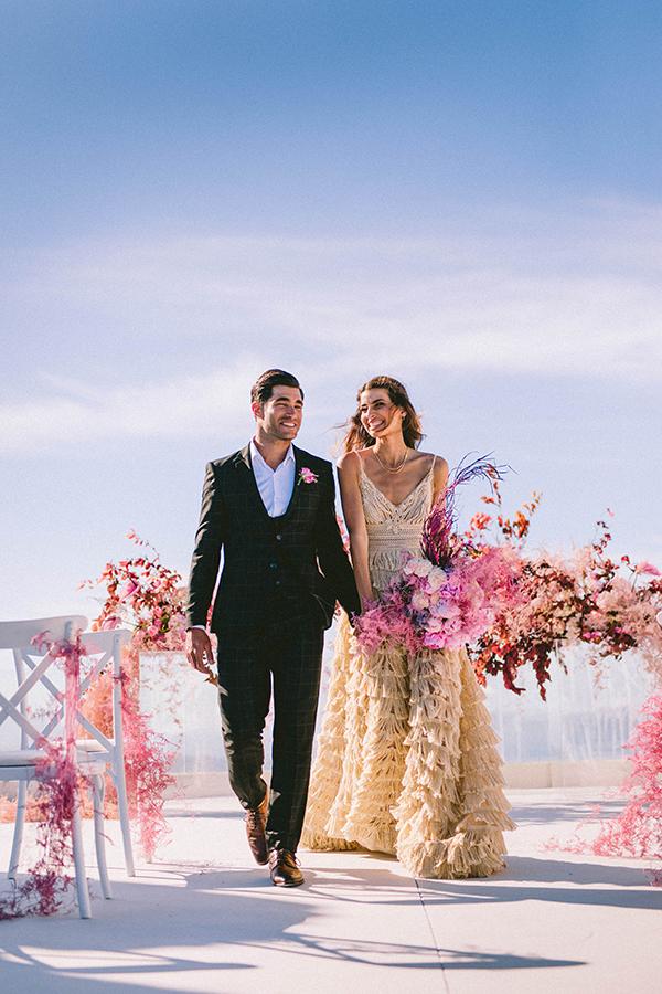 elegant-wedding-inspiration-soft-hot-pinks-santorini_31